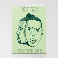 Watch The Throne II Stationery Cards