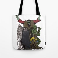 The Demonsterables (no T… Tote Bag