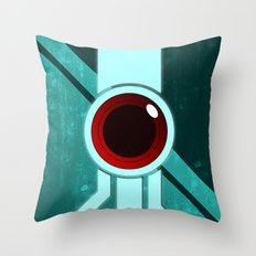 The Paintbrush Throw Pillow
