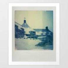 Timberline Lodge - Polaroid Art Print