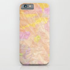 Abstract painting on a stone iPhone 6s Slim Case