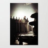 Around Rome Canvas Print