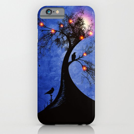 Raven christmas II - HOLIDAZE iPhone & iPod Case