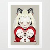 Mitosis Art Print