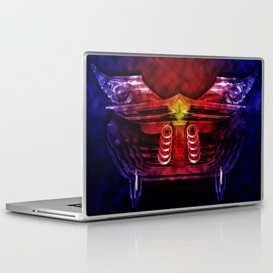 Car abstract Laptop & iPad Skin