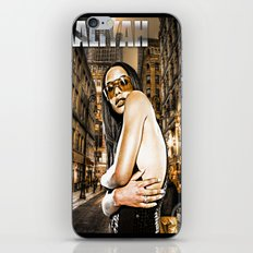 Street Phenomenon Aaliyah iPhone & iPod Skin