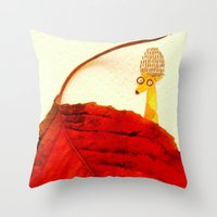 Cute Surprise Throw Pillow