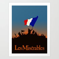 Les Miserables Art Print
