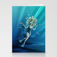 Deep Sea Feelings (Evolve) Stationery Cards