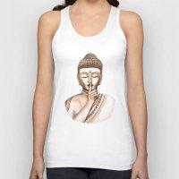 Buddha Shh.. Do not disturb - Colored version Unisex Tank Top