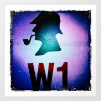 Hey Sherlock 2 ! Art Print