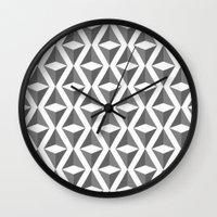 Abstract 3d grainy Wall Clock