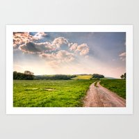 Road To Happiness  Art Print