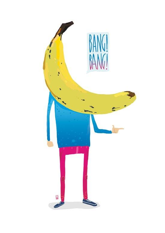 Bang! Bang! Art Print