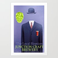 #SUPERCONDUCTOR : The Local HOption Art Print