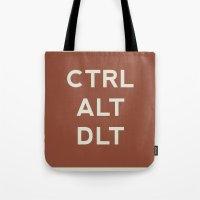 CTRL ALT DLT Tote Bag