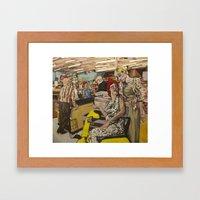 Thriftway Framed Art Print