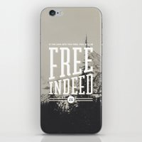 Free Indeed - Photo iPhone & iPod Skin