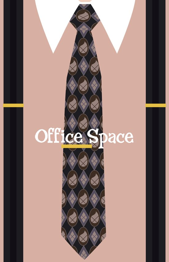 Office Space Minimal 02 Canvas Print