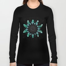 We live by the sun, We feel by the moon. Long Sleeve T-shirt