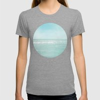 Majestic Sea Womens Fitted Tee Tri-Grey SMALL