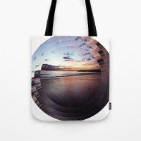 Circular Beach Tote Bag