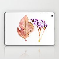 Nature Flower and Autumn Leaf Laptop & iPad Skin