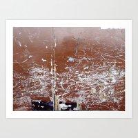 Urban Abstract 23 Art Print