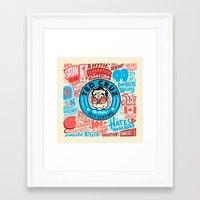 Cruz Flyer Framed Art Print