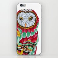 Owl Aura. Candy Colored … iPhone & iPod Skin
