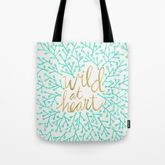 Wild At Heart – Turquo… Tote Bag