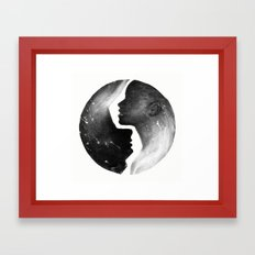I'm With You I Framed Art Print