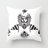Sacred Heart Throw Pillow