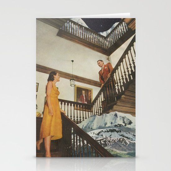 The Staircase Stationery Card