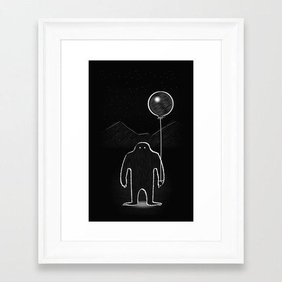 Monster 1 Framed Art Print