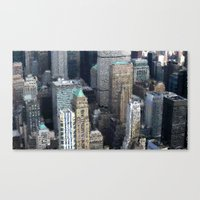 Manhattan Souvenirrs Canvas Print