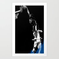 Vince Carter Olympic Dunk Art Print
