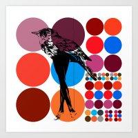 Poster Heroine  Art Print