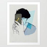 smart ZOMBIE series-4 Art Print