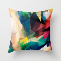 Mixed Feelings Throw Pillow