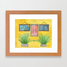 four of one kind Framed Art Print