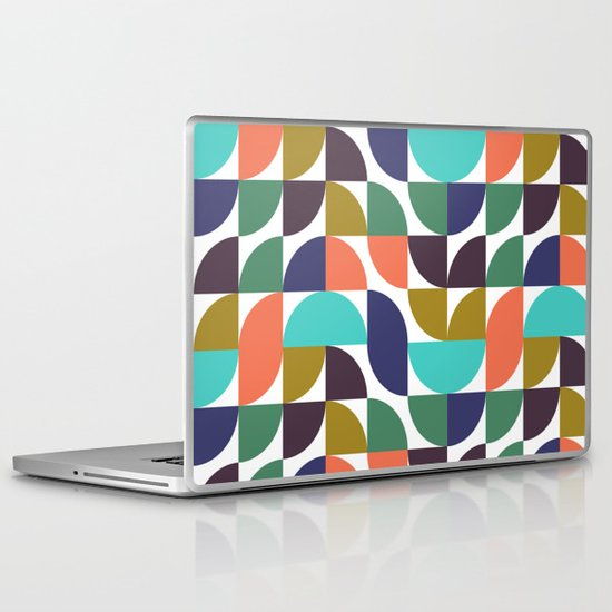 mod geo pattern Laptop & iPad Skin