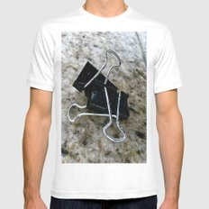 Varicose Attachments. Mens Fitted Tee SMALL White