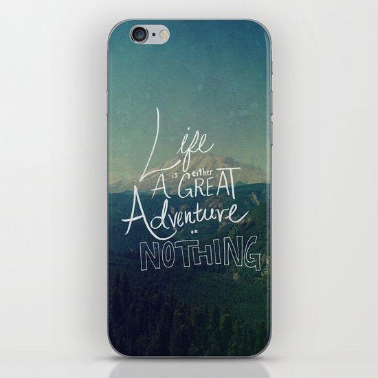 Great Adventure II iPhone & iPod Skin