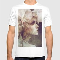 Petal Mens Fitted Tee White SMALL
