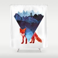 Risky Road Shower Curtain
