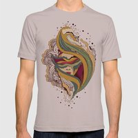 Triangular dream Mens Fitted Tee Cinder SMALL