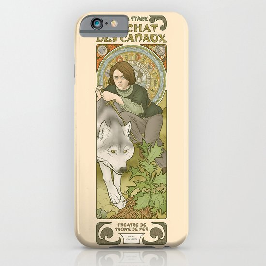 The cat of the canals iPhone & iPod Case