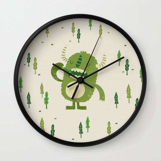 the tree muncher Wall Clock