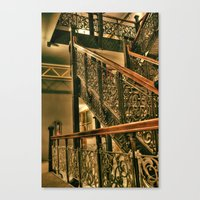 Monadnock Staircase Canvas Print